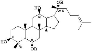 ginsenoside 20 (R) -Rg2