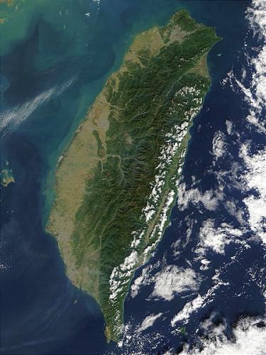 Taiwan zelený ostrov