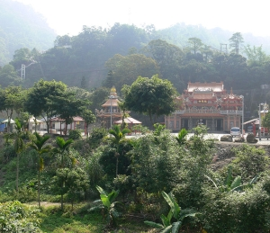 the temple in Alishan
