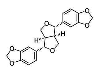 Eleuteroside B4 = sesamin