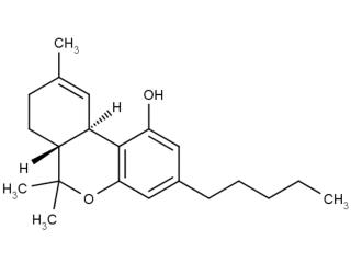 tetraidrocannabinolo (THC)