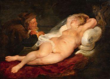 Rubens: Puščica in Angelica Spanje