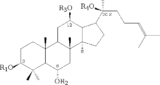 ginsenoside RG1 acetil