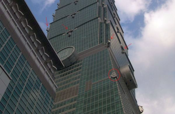 Glossy Themes on Taipei 101 Building
