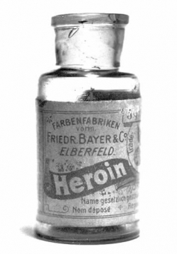 Heroin from Friedrich Bayer, the founder of the Bayer pharmaceutical company