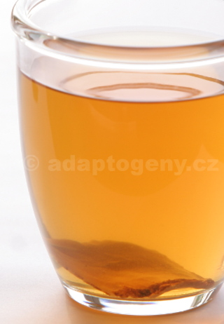 cup of ginseng tea